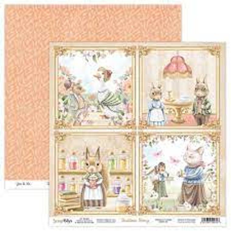 ScrapBoys - Bedtime Story  12 x 12 - Single Sheet - (BEST-05)  ScrapBoys - Bedtime Story Series  12 x 12 Scrapbooking Sheets - Single Sheet - (BEST-05) Sizes : paper sheets ; 30,5 x 30,5 cm ( 12''x12'')  Acid & Lignin Free. Weight: 190 gsm