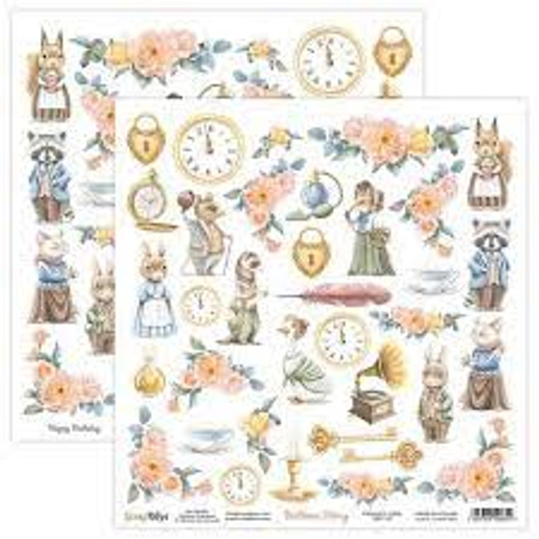 ScrapBoys - Bedtime Story  12 x 12 - Single Sheet - (BEST-07)  ScrapBoys - Bedtime Story Series  12 x 12 Scrapbooking Sheets - Single Sheet - (BEST-07) Sizes : paper sheets ; 30,5 x 30,5 cm ( 12''x12'')  Acid & Lignin Free. Weight: 190 gsm