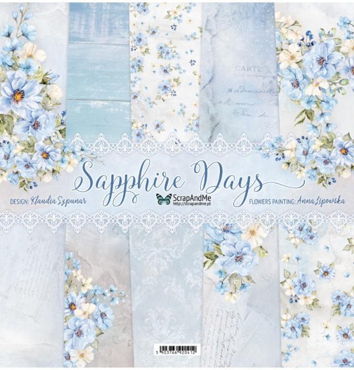 ScrapAndMe - Sapphire Days - 12x12 (SD-11)