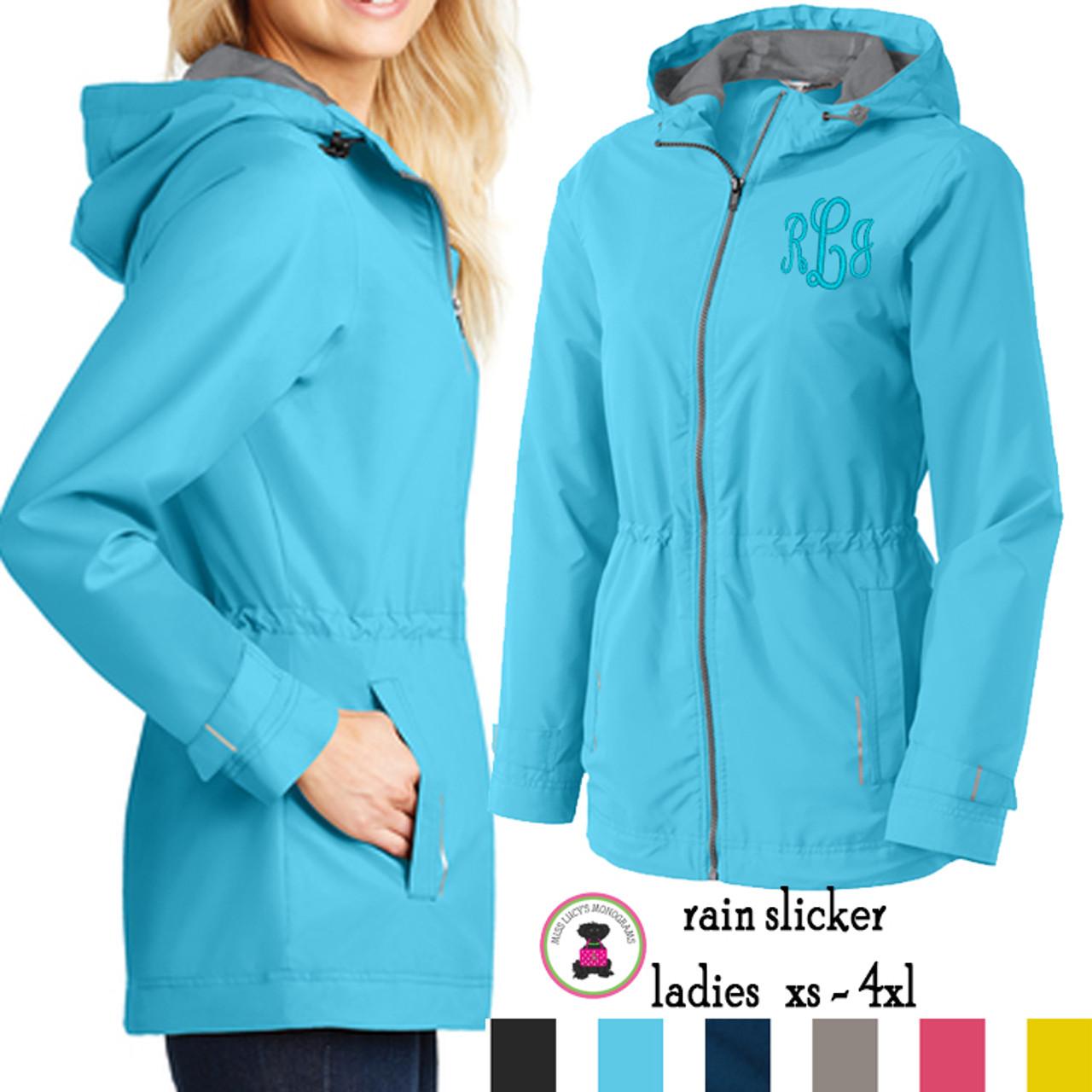 3XL 2XL 4XL NEW Mens Waterproof Rain Jacket Coat Slicker Hood Pockets S-XL