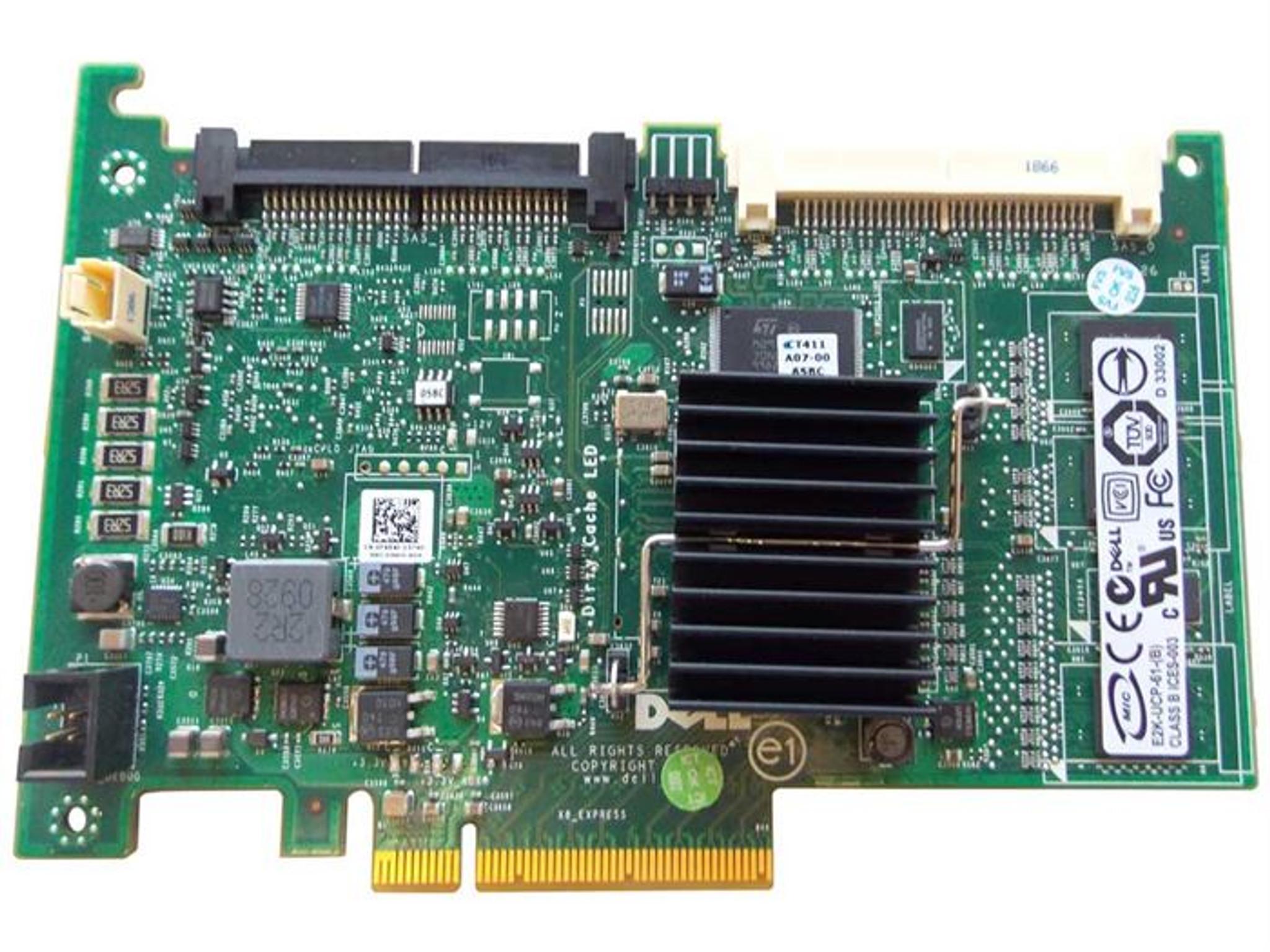 Dell 341-5735 Perc 6i DC SAS Raid Controller