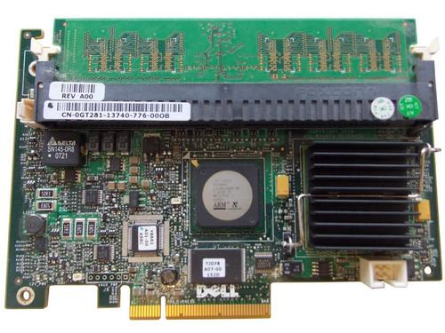 Dell GT281 Perc 5i DC Raid Controller