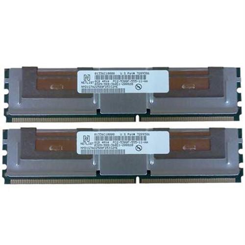 Dell SNPM788DCK2/16G Memory 16GB PC2-5300F 4Rx4 - 2 Pack