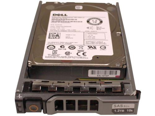 """Dell 342-5521 Hard Drive 1.2TB 10K SAS 2.5"""" in Tray"""