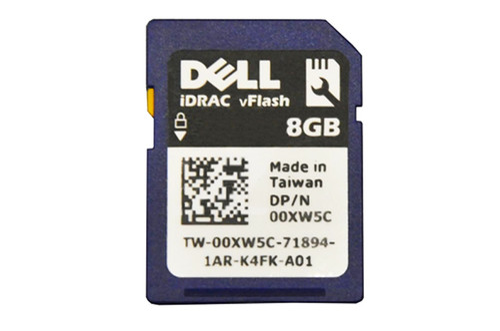 Dell 0XW5C VFlash SD Card 8GB
