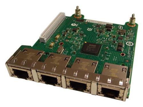 Dell 540-BBIS 10G Quad Port I350/X540 12G Network Daughter Card