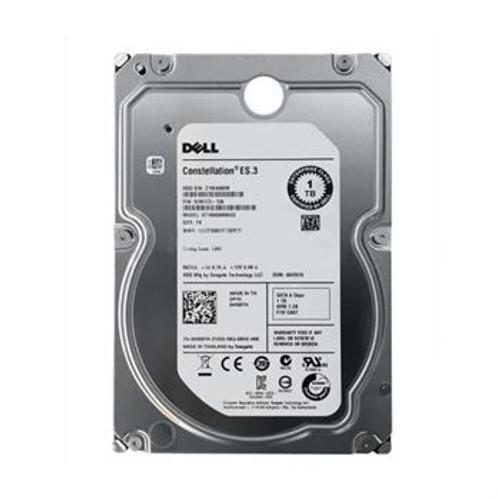 Dell W69TH Hard Drive 1 TB 7.2k SATA 3.5 in Tray