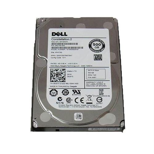 Dell 609Y5 Hard Drive 500 GB 7.2K SATA 2.5 in Tray