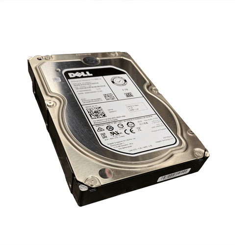 "Dell KRH17 Hard Drive 4TB 7.2K SATA 3.5"" in Tray"