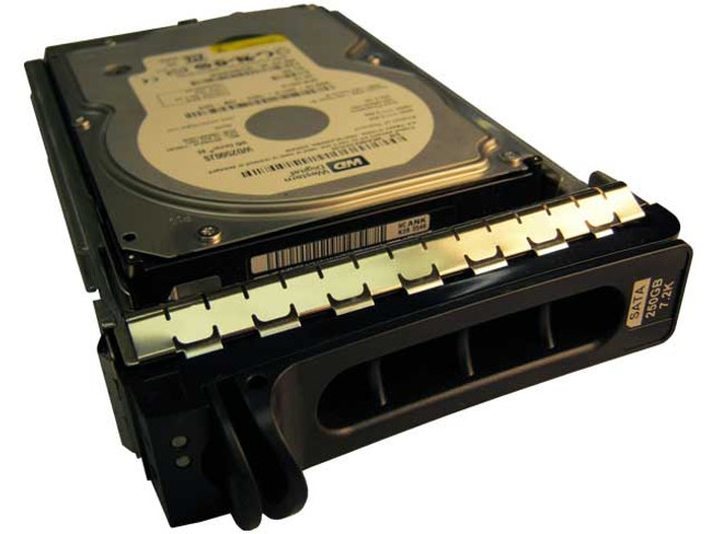"Dell JX718 Hard Drive 250GB 7.2K SATA 3.5"" in Tray"