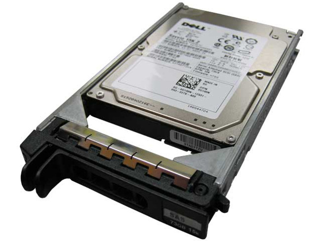 "Dell G108N Hard Drive 73GB 15K SAS 2.5"" in Tray"