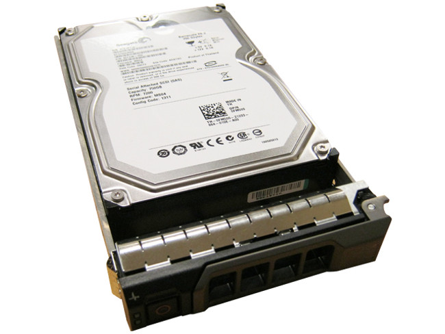 "Dell FM500 Hard Drive 750GB 7.2K SAS 3.5"" in Tray"