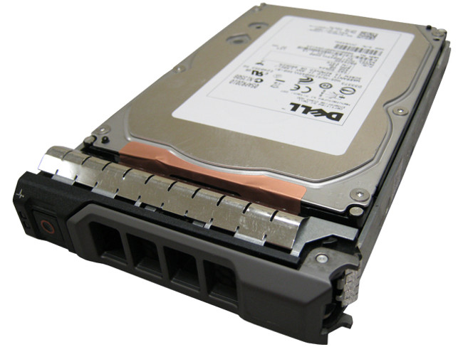 "Dell T857K Hard Drive 450GB 15K SAS 3.5"" in Tray"