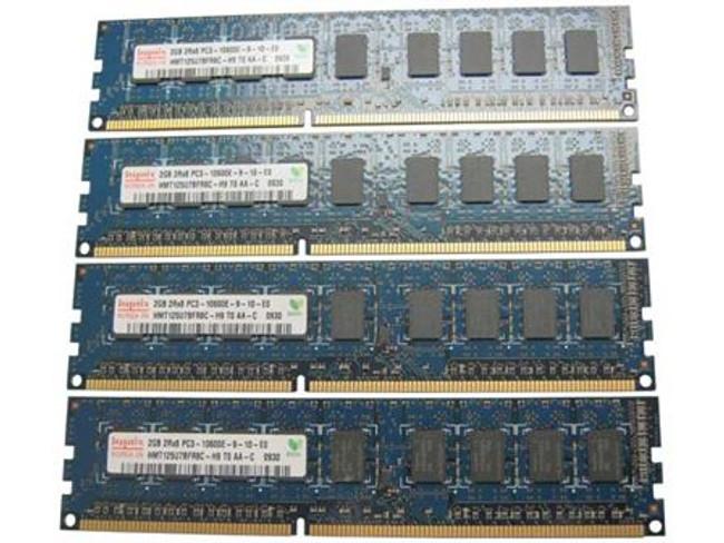 Dell 317-2056 Memory 8GB PC3-10600E 2Rx8 - 4 Pack