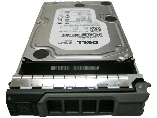 "Dell G631F Hard Drive 750GB 7.2K SATA 3.5"" in Tray"