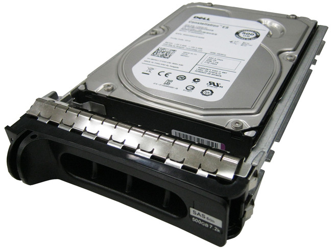 "Dell 341-7397 Hard Drive 500GB 7.2K SAS 3.5"" in Tray"
