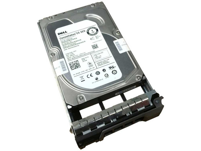 "Dell X164K Hard Drive 1TB 7.2K SAS 3.5"" in Tray"