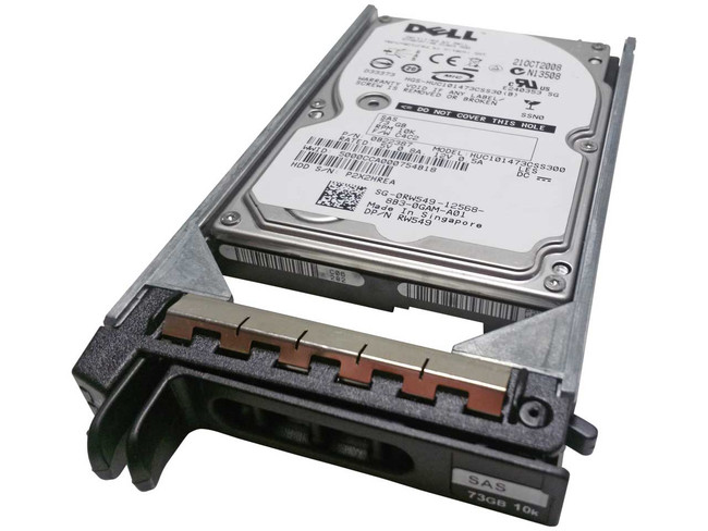 Dell RW549 Hard Drive 73GB 10K SAS 2.5