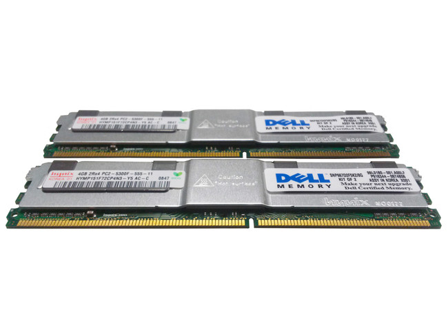 Dell 311-6325 Memory 8GB PC2-5300F 2Rx4 - 2 Pack