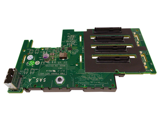 """Dell T466H 1x4 2.5"""" Backplane for PowerEdge R910"""