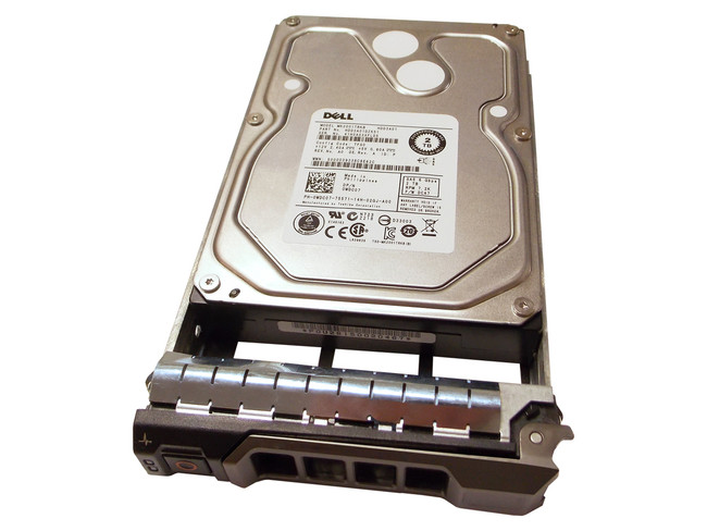 "Dell WDC07 Hard Drive 2TB 7.2K SAS 3.5"" in Tray"