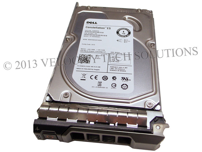 "Dell 740YX Hard Drive 1TB 7.2K SAS 3.5"" in Tray"
