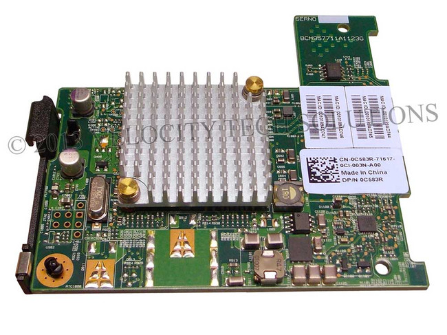 Dell C583R PCI-E Dual Port NIC
