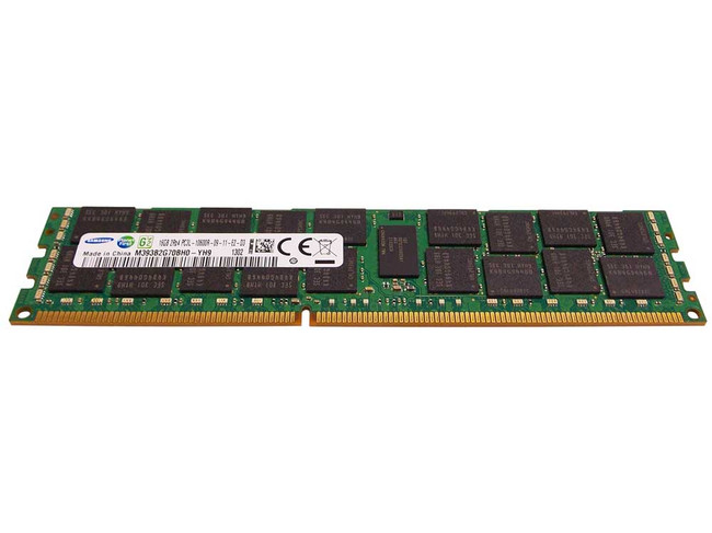 Dell HMNTG Memory 16GB PC3L-10600R 2Rx4