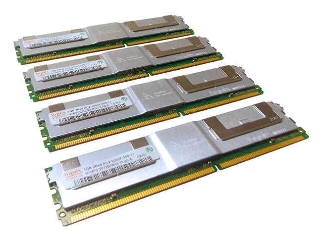 Dell 311-6154 Memory 4GB PC2-5300F 2Rx8 - 4 Pack