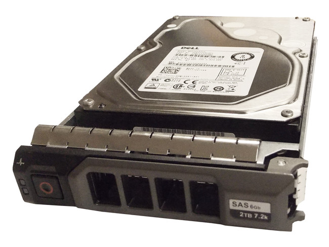 "Dell 829T8 Hard Drive  2TB 7.2K SAS 3.5"" in Tray"