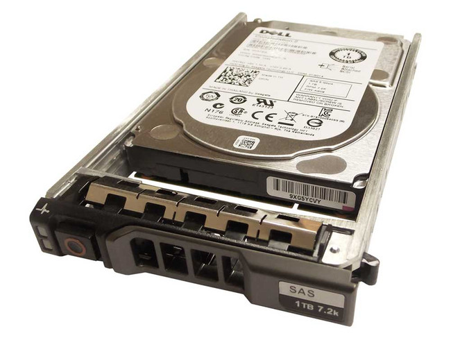 "Dell 342-2006 Hard Drive 1TB 7.2K SAS 2.5"" in Tray"