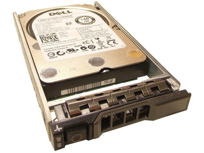 "Dell C722T Hard Drive 146GB 10K SAS 2.5"" in Tray"