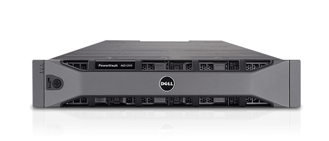 Dell PowerVault MD1200 Storage Enclosure - 12T Configured