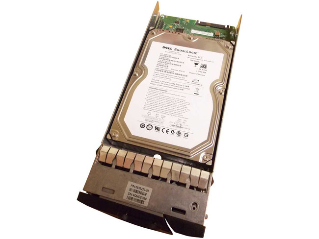"EqualLogic 0935223-04 Hard Drive 500GB 7.2K SATA 3.5"" in Tray"