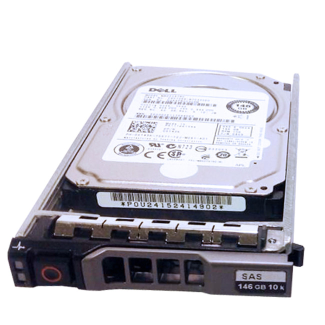 "Dell X143K Hard Drive 146GB 10K SAS 2.5"" in Tray"