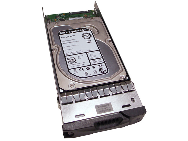 "EqualLogic 0950480-03 Hard Drive 500GB 7.2K SATA 3.5"" in Tray"