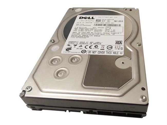 """Dell 9CF6R Hard Drive 2TB 7.2K SATA 3.5"""""""