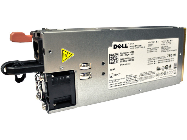 Dell G24H2 Redundant Power Supply 750W