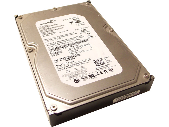 Dell PY927 Hard Drive 500GB SATA 7.2K 3.5""
