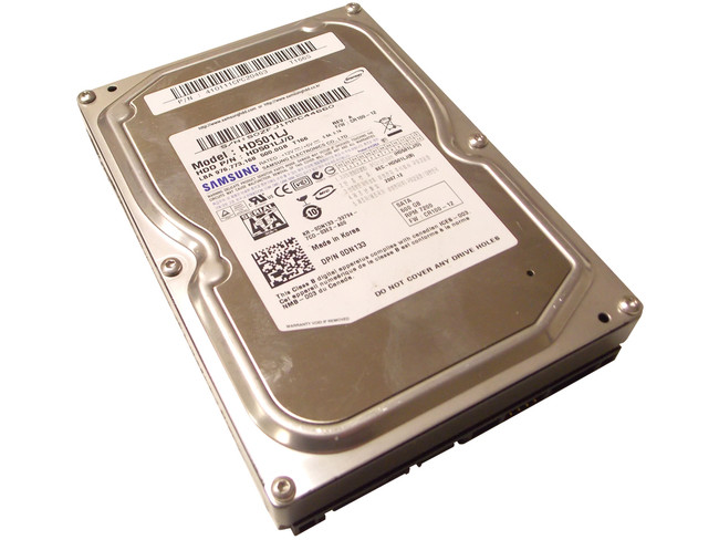 Dell DN133 Hard Drive 500GB 7.2K SATA 3.5""