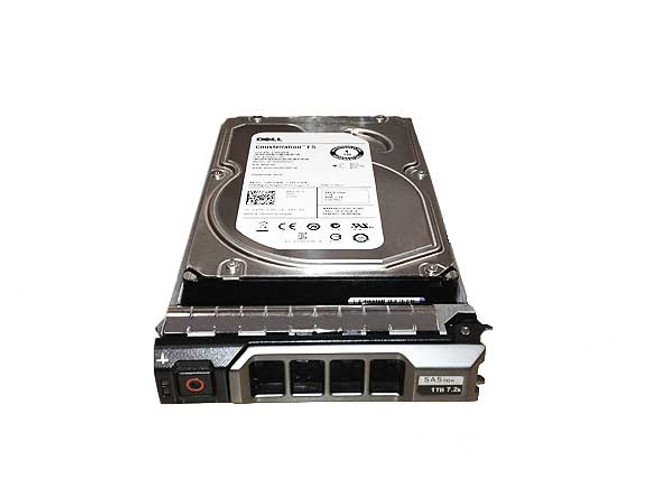 "Dell 7KXJR Hard Drive 1TB 7.2K SAS 3.5"" in Tray"