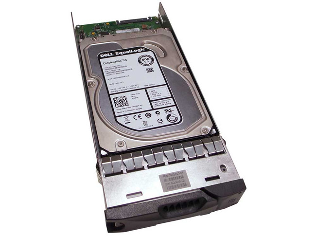 "EqualLogic 0950479-03 Hard Drive 500GB 7.2K SATA 3.5"" in Tray"