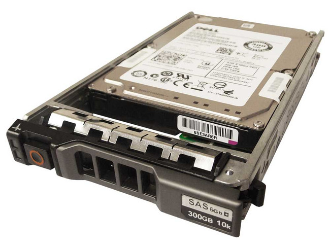 "Dell 148J7 Hard Drive 300GB 10K SAS 2.5"" in Tray"
