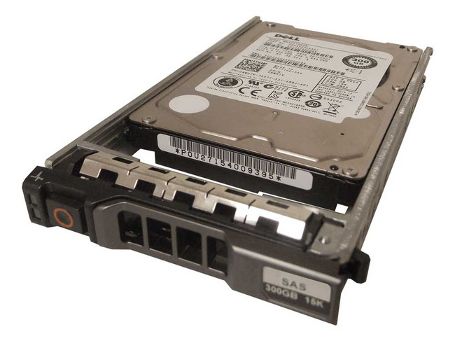 "Dell NWH7V Hard Drive 300GB 15K SAS 2.5"" in Tray"