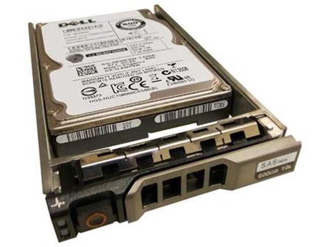 """Dell 8WP8W Hard Drive 600GB 10K SAS 2.5"""" in Tray"""
