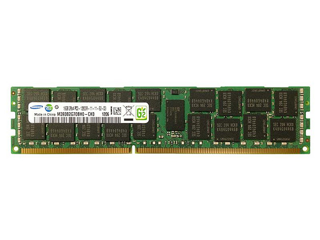 Dell P12GC Memory 16GB PC3-12800R 2Rx4