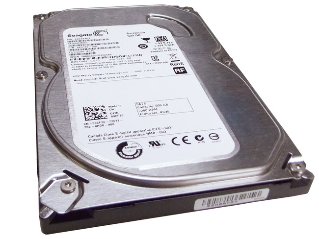"Dell 342-3436 Hard Drive 500GB 7.2K SATA 3.5"" in Tray"