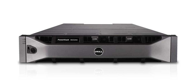 Dell PowerVault MD3200i SAN Array - Configured