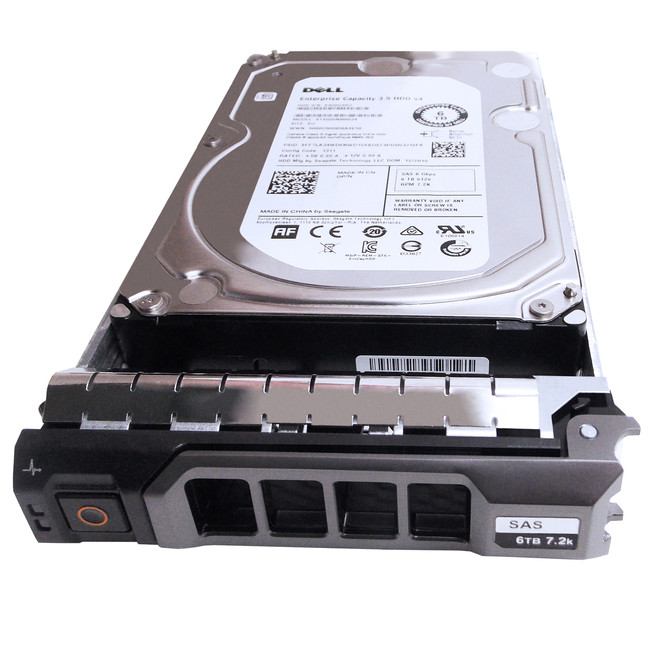 "Dell 400-AFNY Hard Drive 6TB 7.2K SAS 3.5"" in Tray"