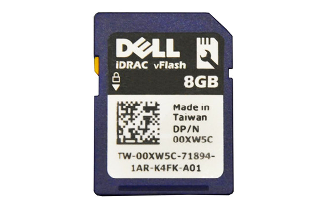 Dell 342-1413 VFlash SD Card 8GB